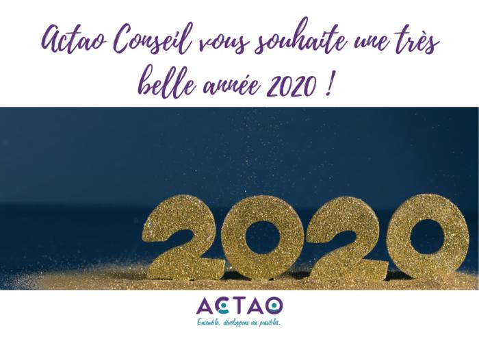 Actao Conseil vous souhaite ses meilleurs voeux !